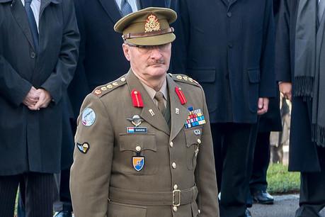 À 59ans, le général Duschène a fait valoir ses droits à la retraite alors que les syndicats de l'armée ne veulent pas refermer le dossier Schleck. (Photo: Ministère de la Défense)