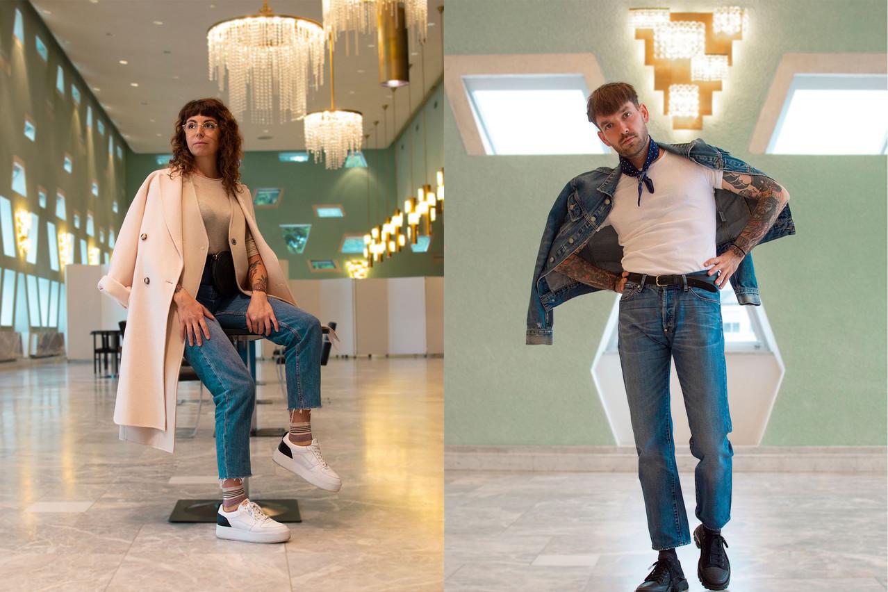 Maddalena Oliva et Pit Romersa nous proposent un style denim. (Photo: Maison Moderne)