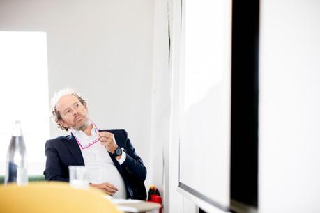 «Place aux jeunes!», lance Jean-LouisSchiltz, qui estime l'exercice réussi. (Photo: Jan Hanrion/Maison Moderne)