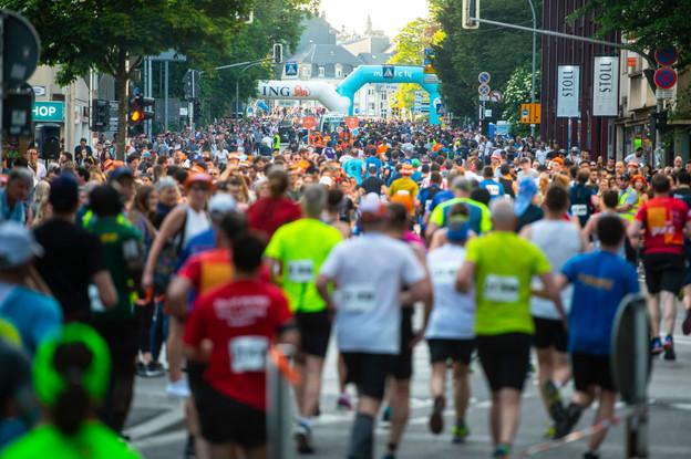 Comme en 2020, on ne devrait pas voir de coureurs dans les rues de la capitale cette année. (Photo: Anthony Dehez / archives)