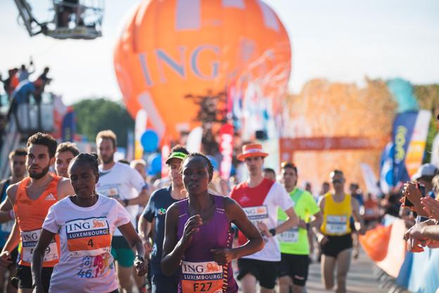 16.000 sportifs avaient foulé le bitume pour l'édition2019 de l'événement organisé par la société Step by Step, la Ville de Luxembourg et la banque ING. (Photo: Nader Ghavami/archives Paperjam)