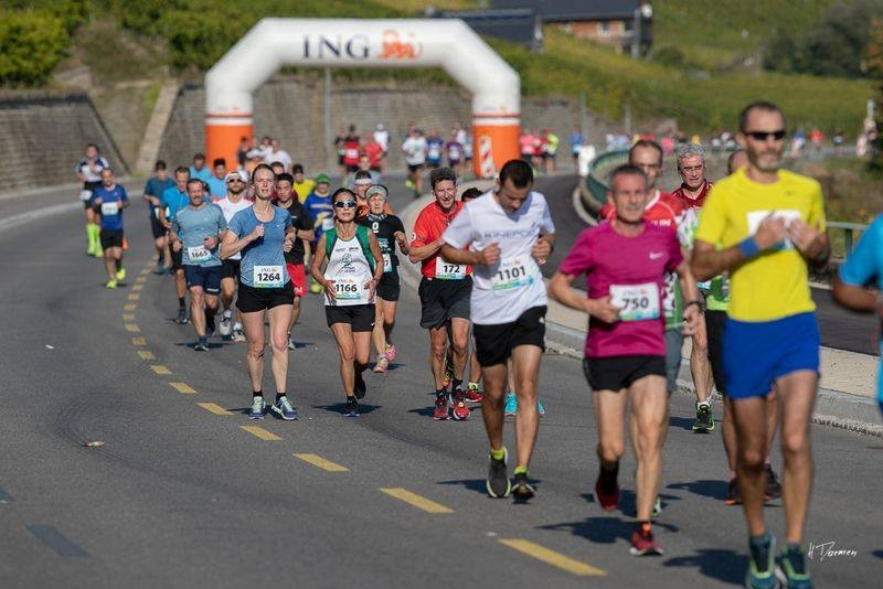 The half-marathon along the Moselle has been postponed again until next year. ING Route du Vin/Facebook