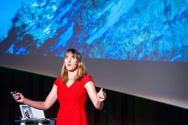 L'alpiniste Cathy O'Dowd a inspiré les chefs d'entreprise lors de la conférence Horizon de Deloitte. (Photo: LaLa La Photo, Keven Erickson, Krystyna Dul)