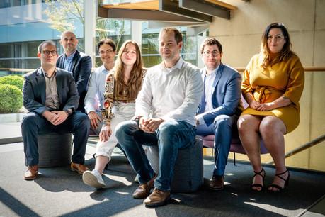 L'équipe Innovation de Bâloise Assurances Luxembourg . (Photo:  Bâloise Luxembourg )