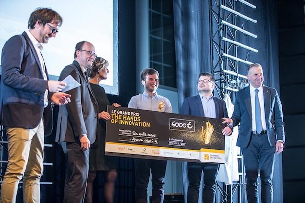 L'entreprise Annen est la dernière lauréate du prix avec son système de construction sans clou ni vis. (Photo: Chambre des métiers)
