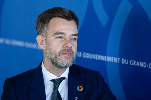 Selon le ministre de l'Économie, FranzFayot, dire que le secteur financier innove massivement est une évidence. (Photo: Maison Moderne)