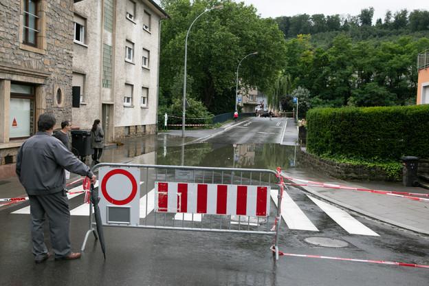 Des entreprises souffrent encore des inondations de juillet et doivent mettre du personnel au chômage partiel. (Photo: Matic Zorman/Maison Moderne)