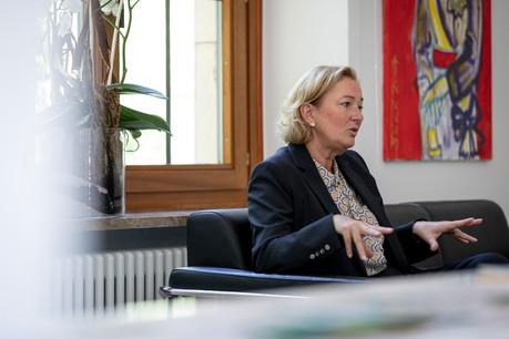La recrudescence du nombre de cas de Covid-19, avec parfois plus de 50cas par jour, est inquiétante, reconnaît la ministre de la Santé, PauletteLenert (LSAP). (Photo: Patricia Pitsch / Maison Moderne)