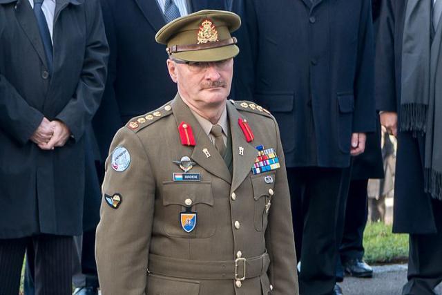 Le général  Duschène  a pris ses fonctions à la tête de l'armée luxembourgeoise en septembre2017. (Photo: Wikimédia commons)