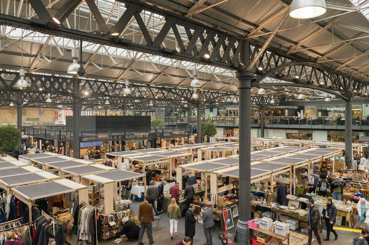 LeOld Spitalfields Marketest un marché couvert très dynamique à proximité de la City à Londres. (Photo: Shutterstock)