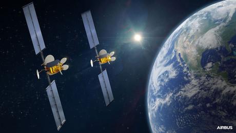 Même sous le coup du chapitre11 aux États-Unis, Intelsat a été autorisée à acquérir deux OneSat nouvelle génération d'Airbus, pilotés par logiciel. (Photo: Airbus)
