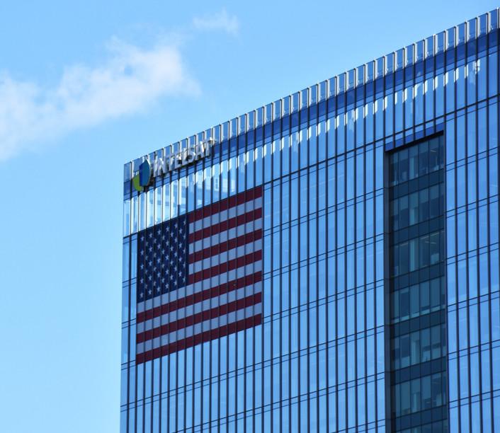 Intelsat Building, Tysons Corner, Virginia, USA, Shutterstock