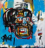 Jean Michel Basquiat,  Untitled , 1982 (Courtesy of Sotheby's)
