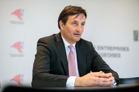 Nicolas Buck, patron de l'UEL, souhaite continuer à travailler avec le gouvernement pour développer la croissance du pays. (Photo: Matic Zorman)