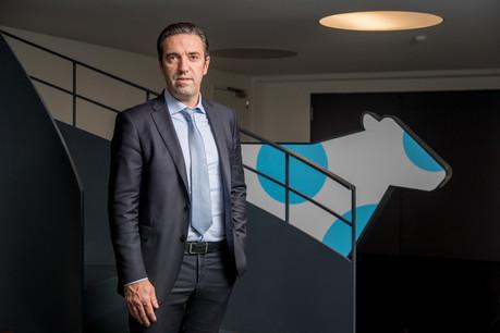 Le directeur de Luxlait, GillesGérard, se félicite de ce nouvel investissement au sein de la coopérative laitière. (Photo: Nader Ghavami/archives)