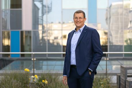 Guillaume Roch, directeur commercial, marketing et solutions chez Société Générale Securities Services (SGSS) à Luxembourg. Matic Zorman / Maison Moderne