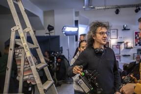 Donato Rotunno, pendant le tournage chez Maison Moderne. ((Photo: Jan Hanrion / Maison Moderne))