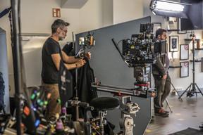 Vue du tournage chez Maison Moderne. ((Photo: Jan Hanrion / Maison Moderne))