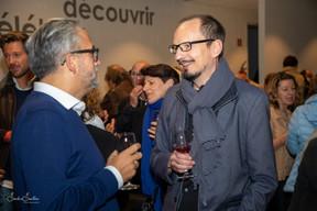 Mike Koedinger (Maison Moderne) and Félix Sorger Sandra Santioni Photography