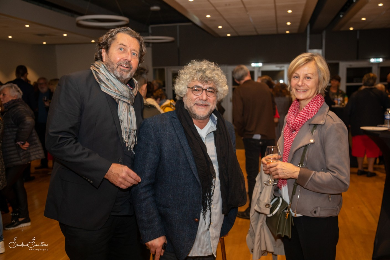 Guy Daleiden (Film Fund Luxembourg), Yilmaz Arslan (MaxMa Film) and Michèle Bram (Film Fund Luxembourg) Sandra Santioni Photography