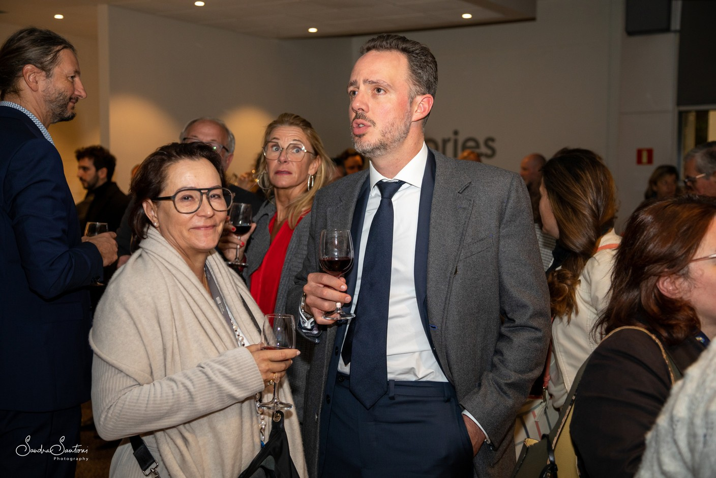 Alexandra Hoesdorff (Deal Productions) and Dr Philippe Wilmes Sandra Santioni Photography