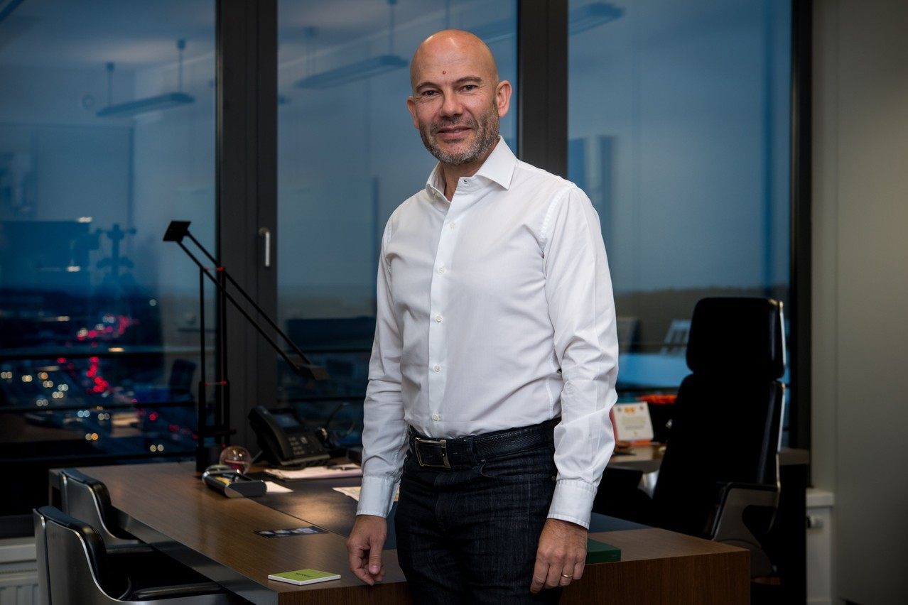 Le président d'IQ-EQ, SergeKrancenblum, veut devenir un fournisseur de premier plan sur le marché français. (Photo: Nader Ghavami/archives Maison Moderne)
