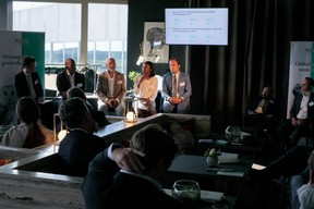 Justin Partington (IQ-EQ), Fèmy Mouftaou (IQ-EQ), Nicholas Curwen (EQT Partners), Aïssata Coulibaly (EY) et Matthias Kerbusch (Clifford Chance) ((Photo: Matic Zorman))