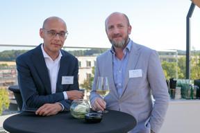 Jan Kengen (ING Luxembourg) et Cyrille Raffoul (J. Safra Sarasin) ((Photo: Matic Zorman))