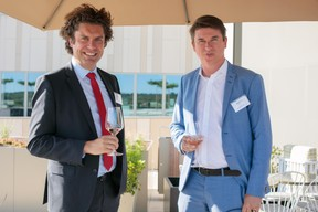 Corentin Dubucq (BGL BNP Paribas) et Claude Ewen (Columbia Threadneedle Investment) ((Photo: Matic Zorman))