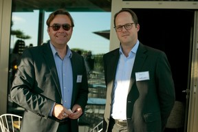 Steve Sokic (IQ-EQ) et Alexander Thompson (IQ-EQ) ((Photo: Matic Zorman))