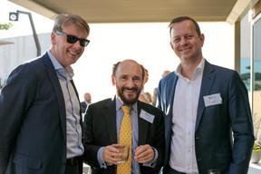 Matt Moran, Professeur Richard Taffler (Warwick Business School) et Christian Heinen (IQ-EQ) ((Photo: Matic Zorman))