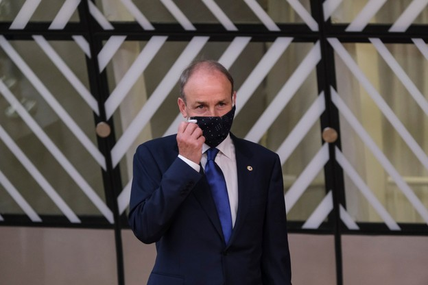 Le Premier ministre irlandais Micheal Martin a annoncé un nouveau confinement qui durera 6 semaines. (Photo: Shutterstock)