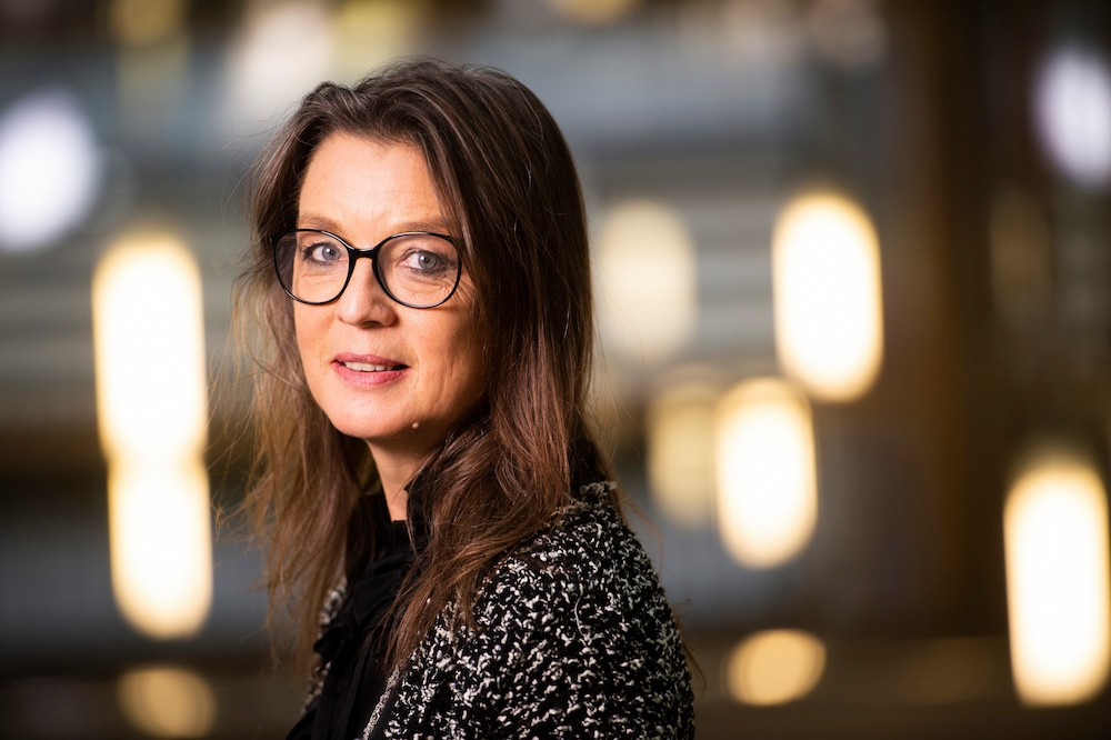 Isabelle Faber occupe actuellement le poste de directrice Communication et relations publiques et RSE de Post Luxembourg. (Photo: dbcreation.be)