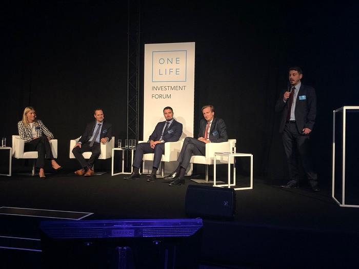 Conférence ISR lors du Forum de l'investissement le 17 octobre. OneLife