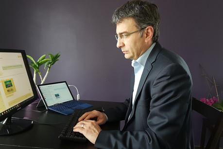 En pleine pandémie, le CEO d'Emailtree, Casius Morea, a finalisé une levée de fonds de 400.000 euros, principalement auprès d'Excellium, pour booster une solution déjà adoptée par Orange et EDF. (Photo: Emailtree)