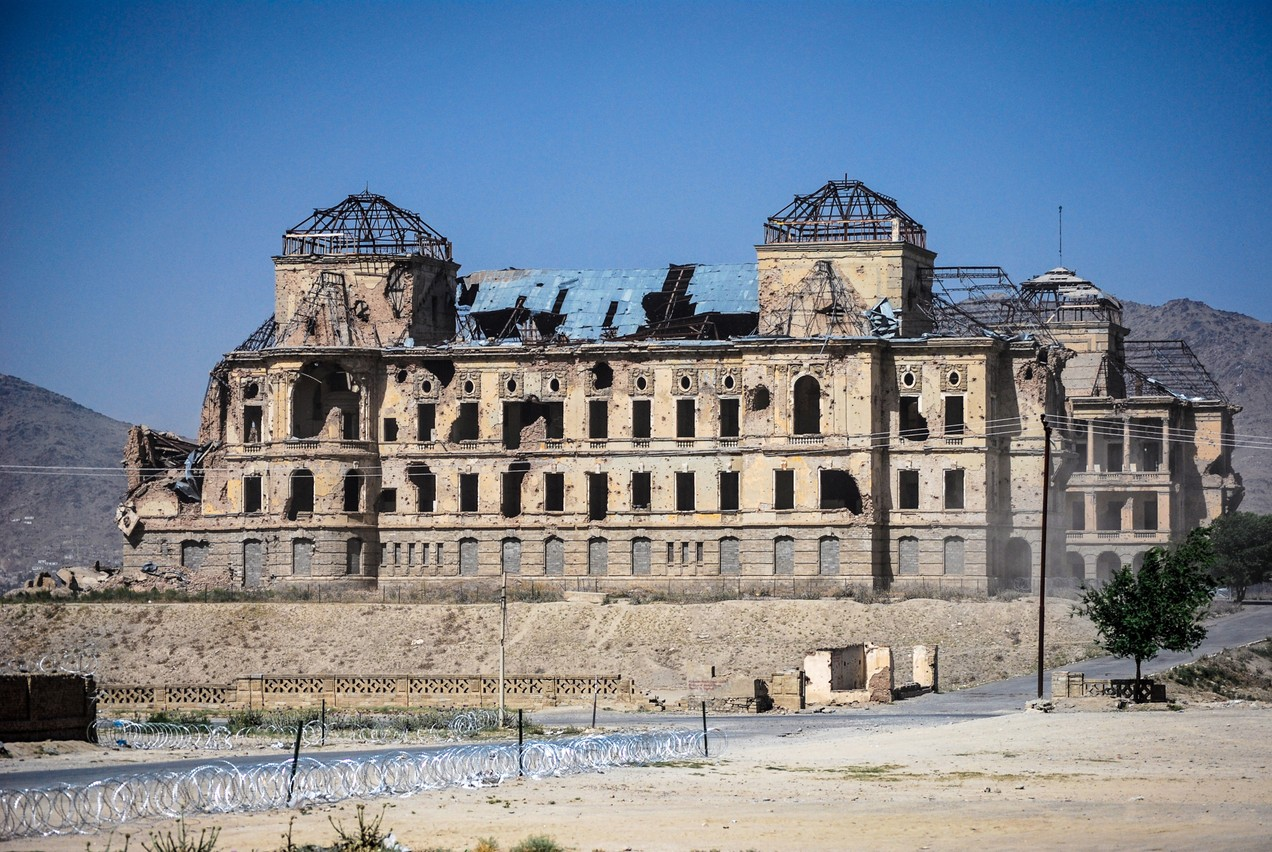 Tahera Mohamadi worked on the restoration of Darul Aman Palace in Kabul before fleeing the country. Photo: Shutterstock