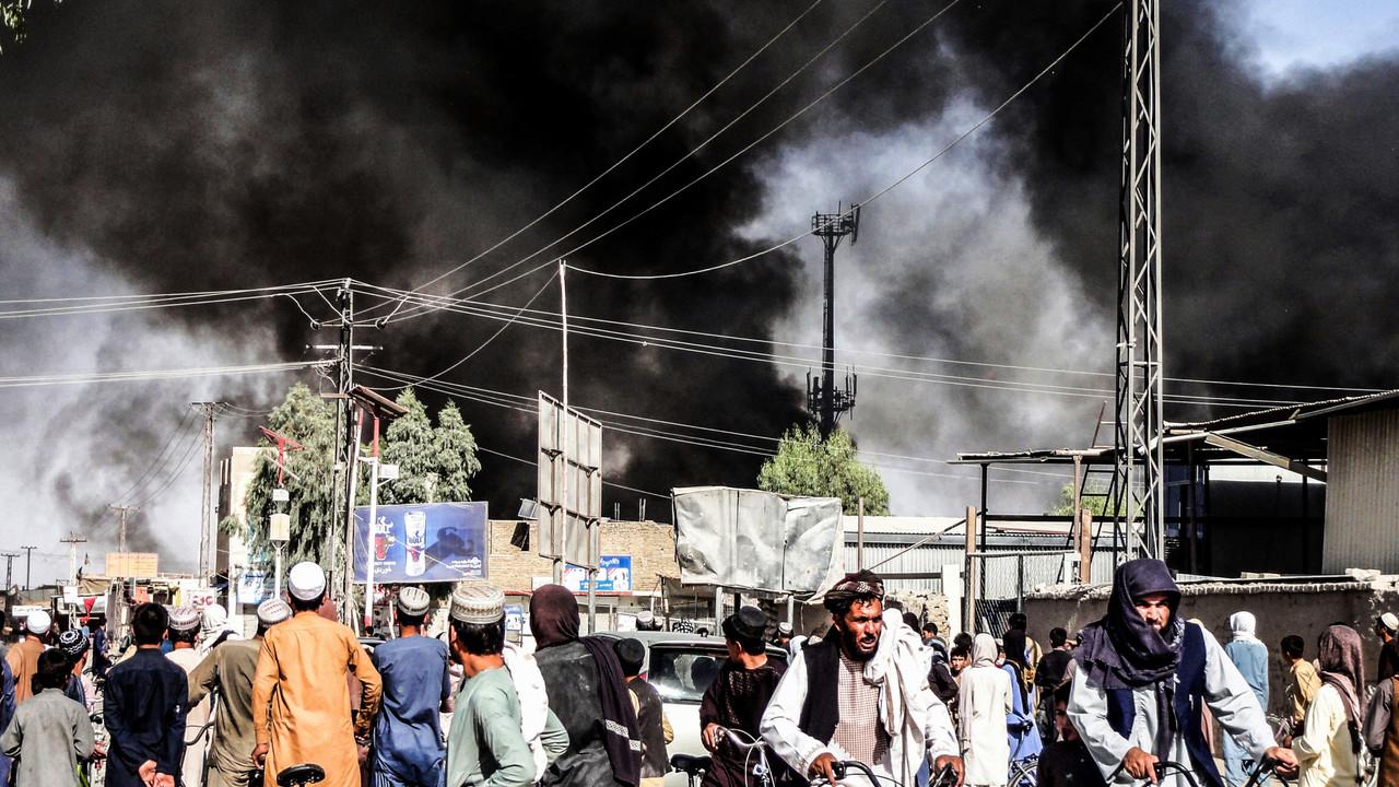 Kabul, Afghanistan on 18 August 2021. Photo: John Smith/Shutterstock