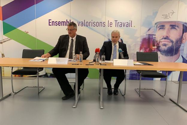 Mandaté par Nicolas Schmit pour relancer l'ITM, le directeur Marco Boly salue le soutien de son successeur Dan Kersch. (Photo: Paperjam)