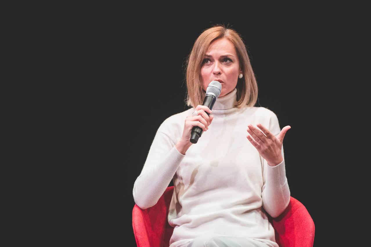 «Si une femme est candidate, elle l'est en raison de ses compétences et de son engagement politique, pas parce que c'est une femme», précise Taina Bofferding. (Photo: Arthur Ranzy)