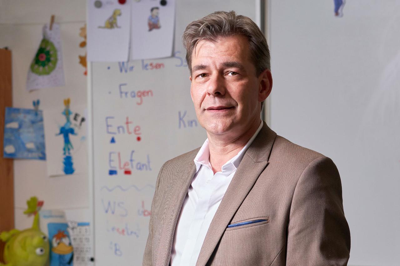 Alain Massen souhaite ouvrir le débat sur le système scolaire actuel au Luxembourg.  (Photo: Andrés Lejona/Maison Moderne)