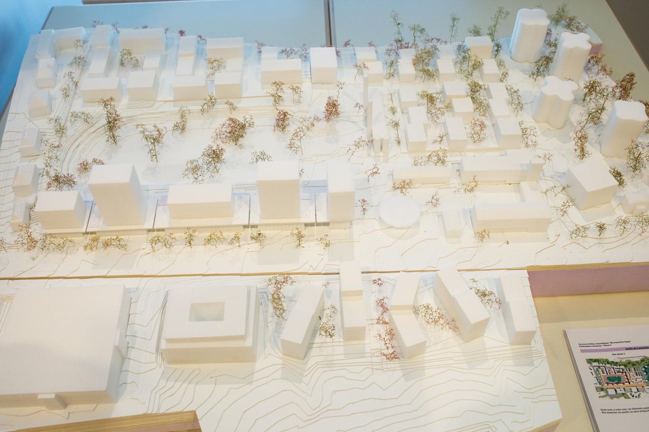 Vue de la maquette du projet (Photo: Matic Zorman/Maison Moderne)