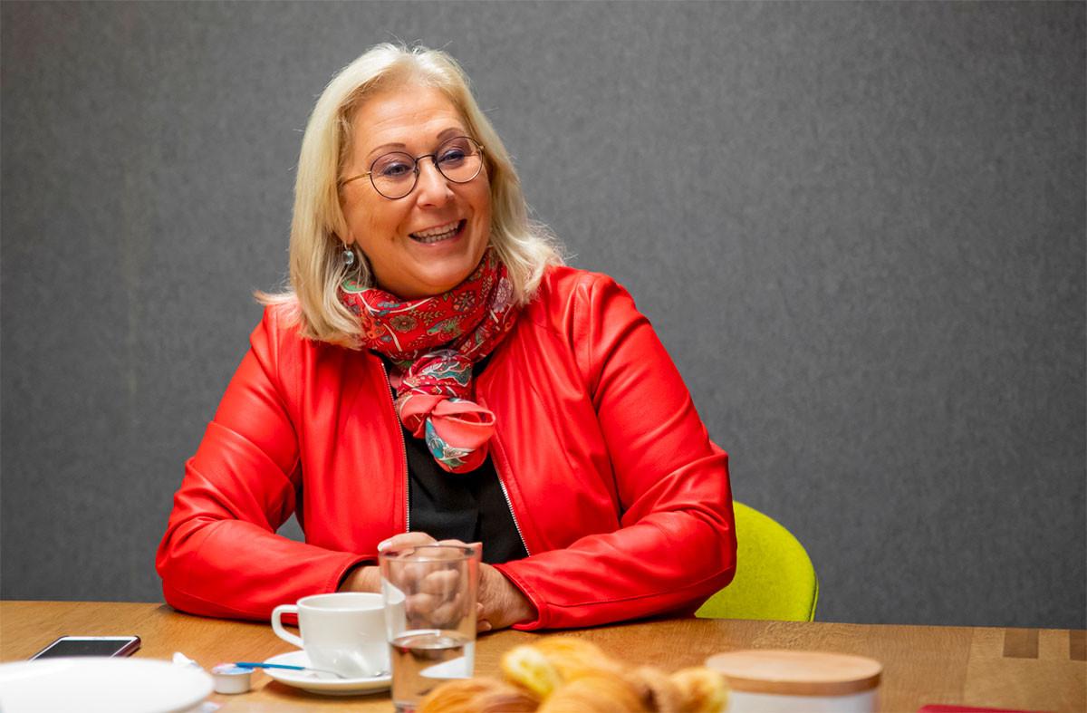 Pour la seconde fois, Danielle Becker-Bauer préside le Conseil national des femmes. (Photo: Jan Hanrion/Maison Moderne)