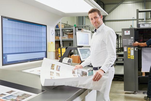 Frédéric Gillen: «Notre stratégie, c'est le one-stop shop. En imprimerie, il y a tant de secteurs différents, de produits, de métiers… Avec le rachat d'Italux, nous couvrons désormais l'emballage.» (Photo: Andrés Lejona/Maison Moderne)