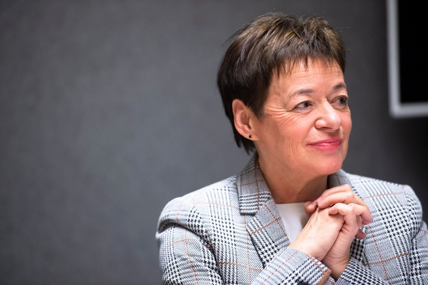 L'ancienne institutrice Josée Lorsché se dédierait à l'éducation et à l'humanitaire si elle devait quitter la politique. (Photo: Anthony Dehez/archives/Maison Moderne)