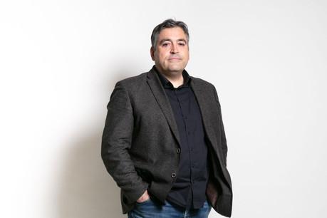 Déjà actionnaire de l'entreprise, Michel Greco endosse, depuismai, le rôle de CEO chez Propper. (Photo: Romain Gamba/Maison Moderne)