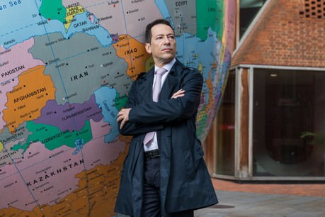 Jean-Pierre Zigrand a rejoint laLondon School of Economics à Londres après ses études et en est devenu l'expert en risques systémiques. (Photo: Jeremie Souteyrat)