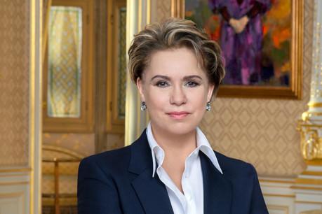 La Grande-Duchesse lance un appel pour briser le silence autour du viol de guerre. (Photo: Emanuele Scorcelletti)