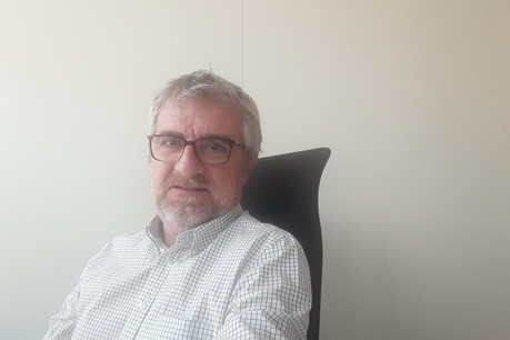 Étienne Henrion, responsable des achats chez Sodexo, vient tous les jours au siège à Bertrange depuis son domicile près de Thionville. (Photo: Étienne Henrion)