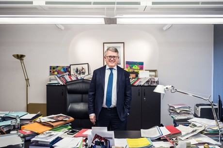 Nicolas Schmit: «Il y a de bonnes choses de faites, et je laisse à la Commission Juncker le fait d'avoir enclenché une dynamique.» (Photo: Mike Zenari / Archives)