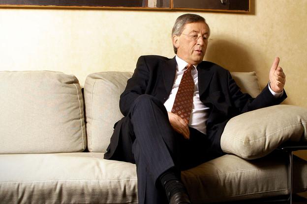 En 2010, Jean-Claude Juncker était Premier ministre, ministre d'État et du Trésor. (Photo: Maison Moderne)